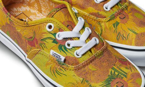 Vans en het Van Gogh Museum maken samen Van Gogh-kleding en -schoenen