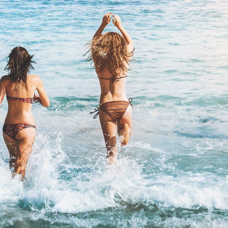 Zwemmen, hittegolf, zomer