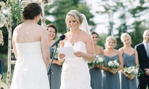 Olympische hockey-dames zetten rivaliteit aan de kant en trouwen met elkaar