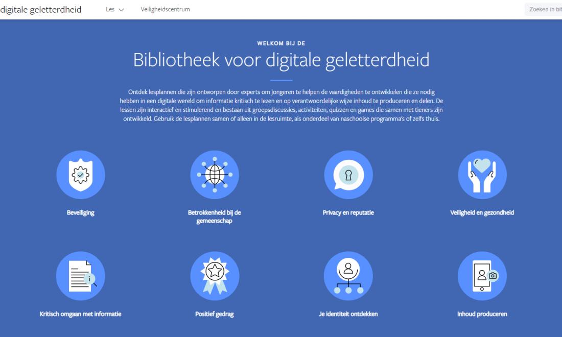 Facebook digitale geletterdheid