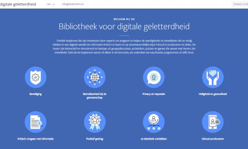 Facebook wil de digitale geletterdheid van Nederlandse jongeren verbeteren met lesmateriaal