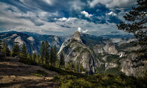 Park Yosemite stroomt vol met afval door gesloten overheid VS