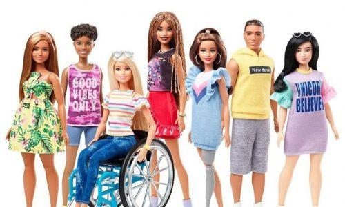 Barbie komt met poppen in rolstoel en met prothese