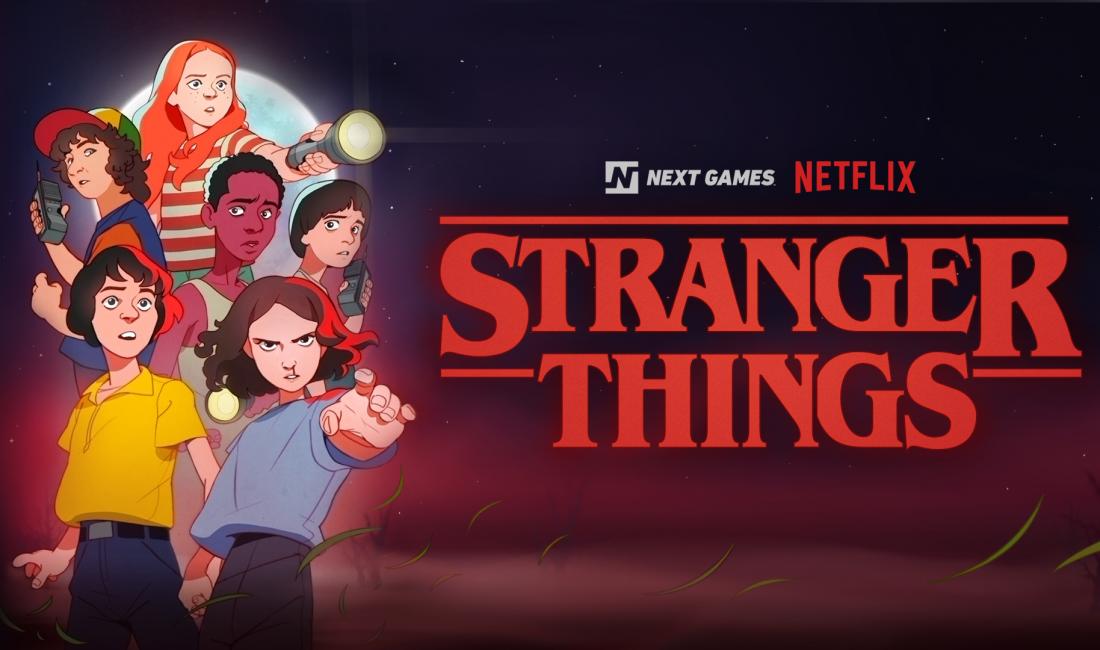 Stranger Things spel