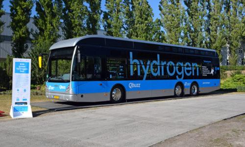 Waterstofbussen moeten uitstoot in drie provincies helpen verlagen