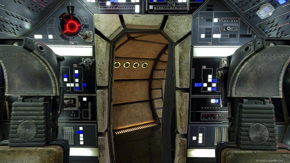 gratis achtergronden voor videovergaderingen, Star Wars