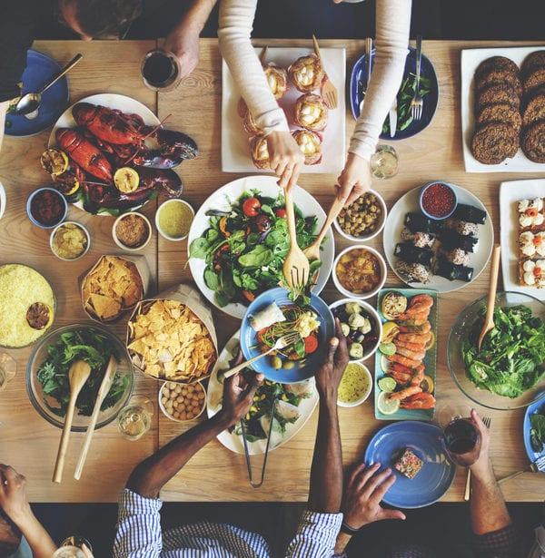samen eten, diner