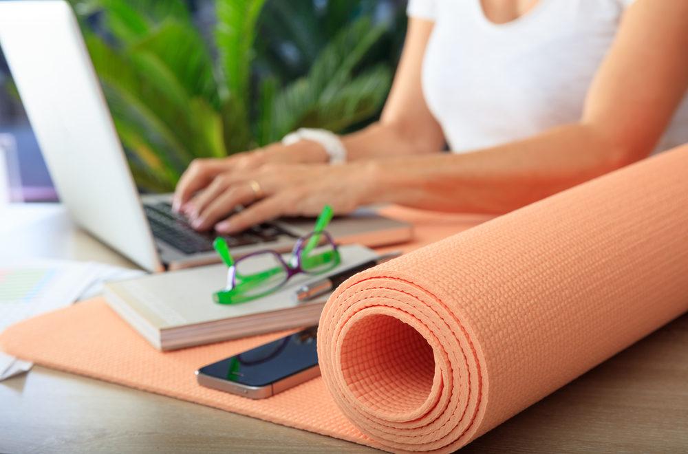 Bureaufitness, yoga, workout, fitness