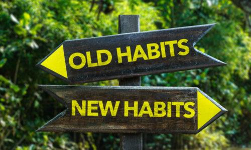 Maak je vakantie nuttig: kom van je slechte gewoontes af