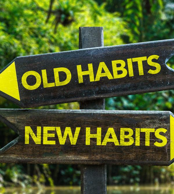Slechte gewoontes, slechte gewoonte, oude gewoonte,