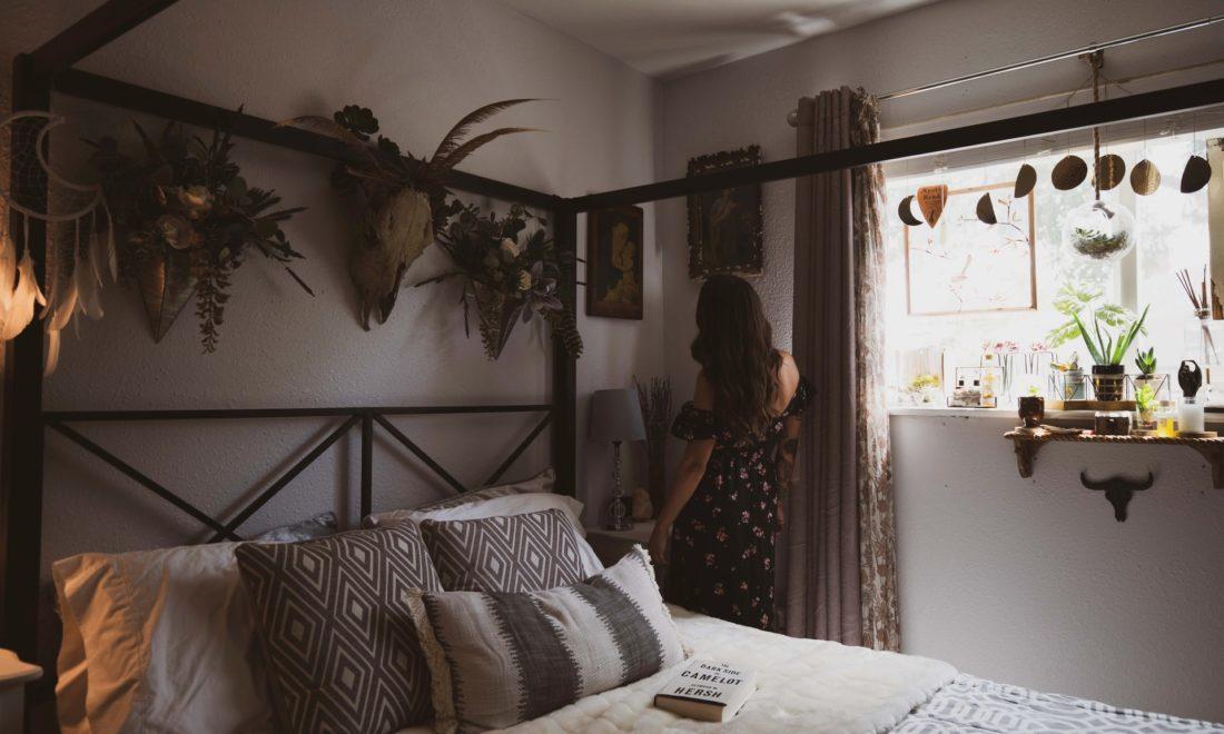 hittegolf slaapkamer