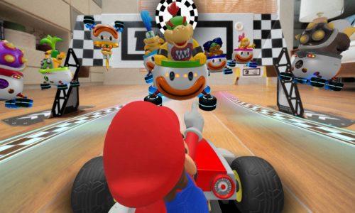 Start your engines: nieuw Mario Kart-spel laat je écht in je woonkamer racen